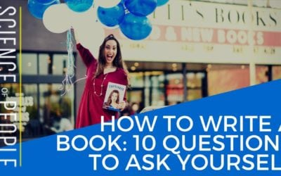 How to Write a Book: 10 Questions to Ask Yourself