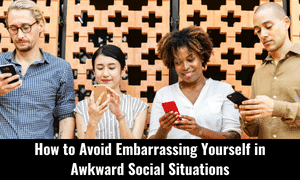 socially awkward