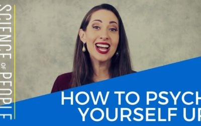 How to Psych Yourself Up Before Your Next Big Thing