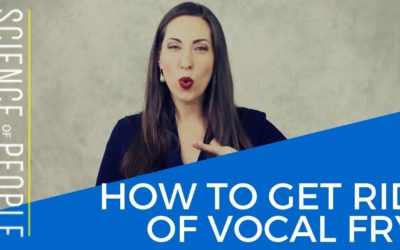 How to Get Rid of Vocal Fry
