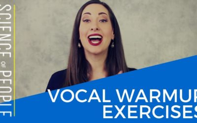 5 Vocal Warm Ups Before Meetings, Speeches and Presentations