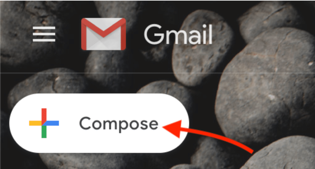 Compose button in Gmail