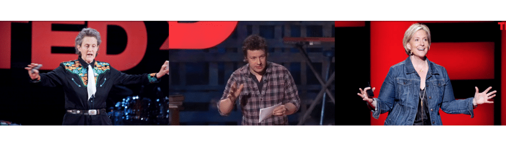 We analyzed TED talks for hand gestures.