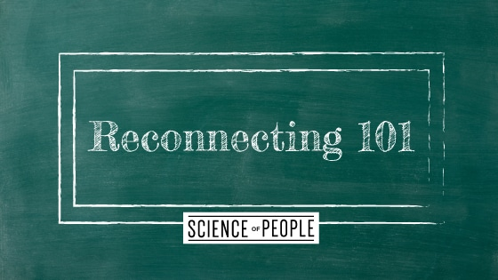 Reconnecting 101