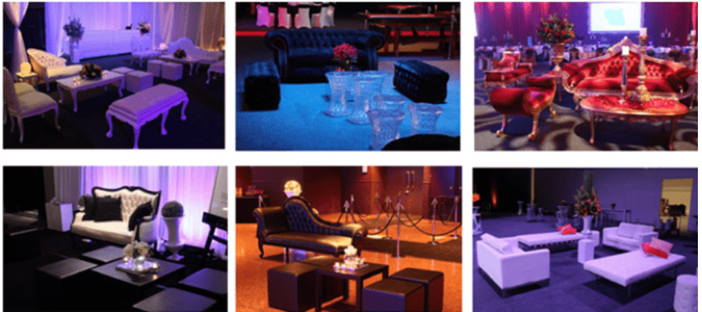 lounge seating arrangement