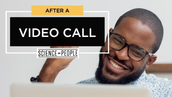 After a Video Call