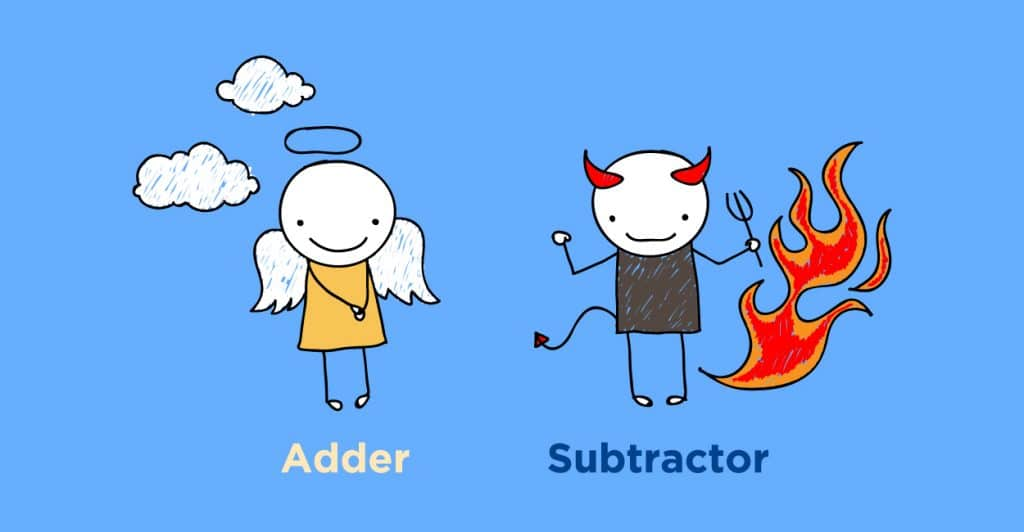 LinkedIn adder and subtractor