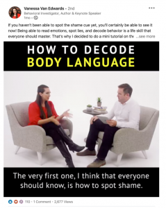 Vanessa on How to Decode Body Language