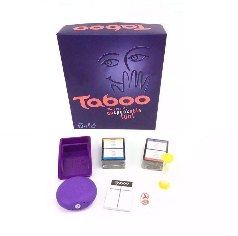 Taboo family board game