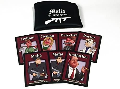 Mafia card game for large groups