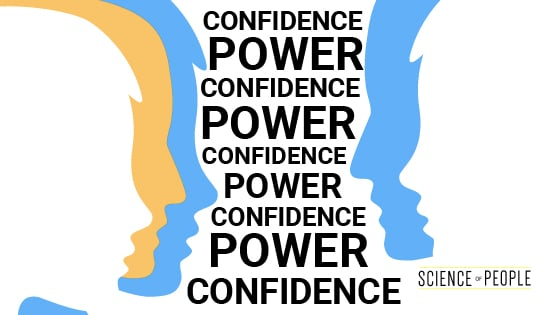 Power and Confidence go hand-in-hand