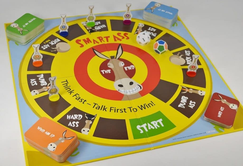 Smartass Board Game