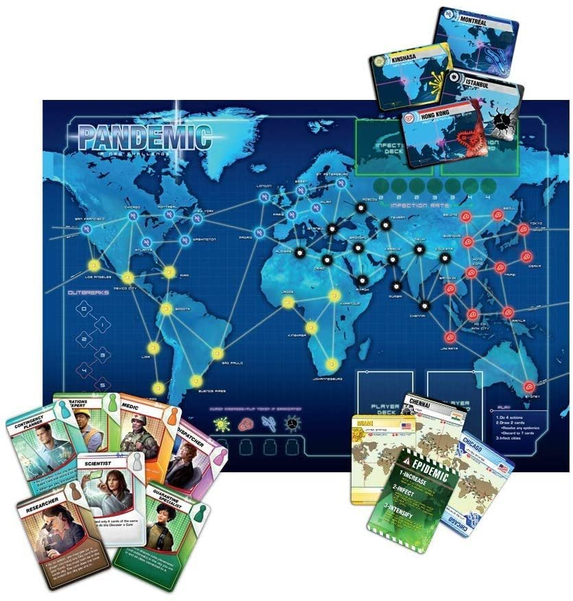 Pandemic family board game