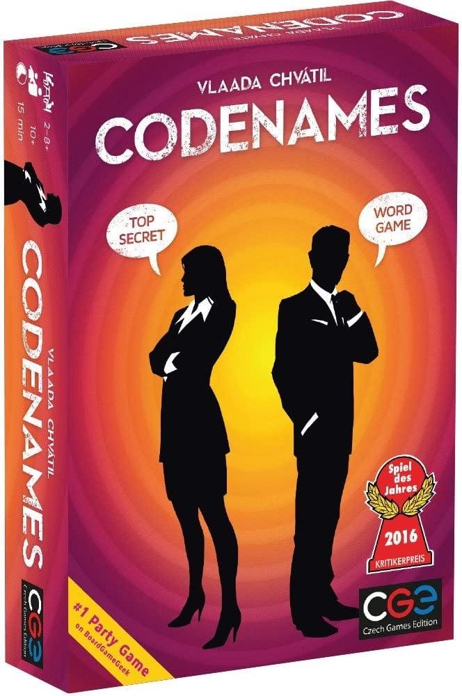 Codenames educational board game