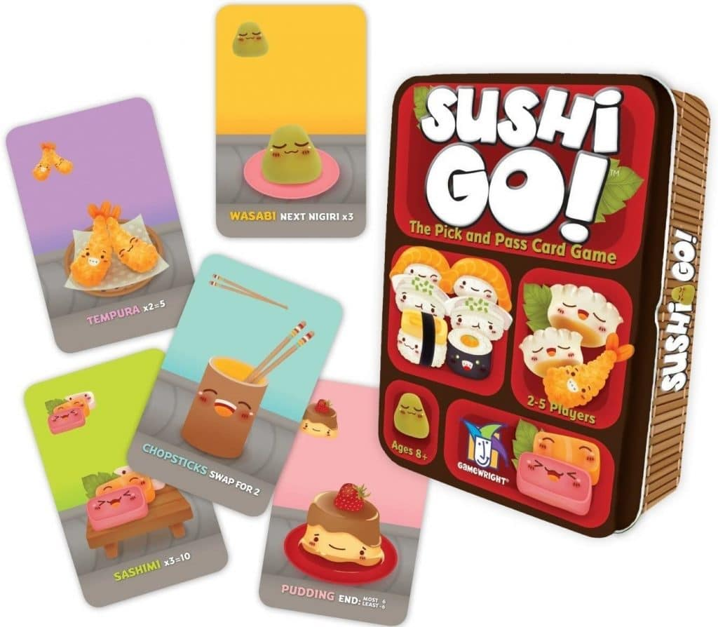 Sushi Go! 2 player game
