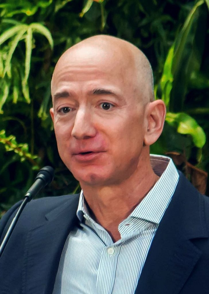 Jeff Bezos, the #5 most powerful person on Forbes' list