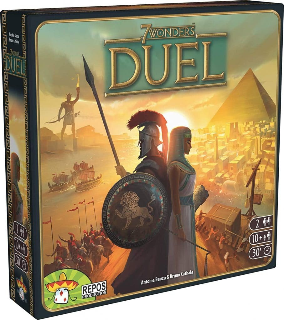 7 Wonders Duel board game for adults