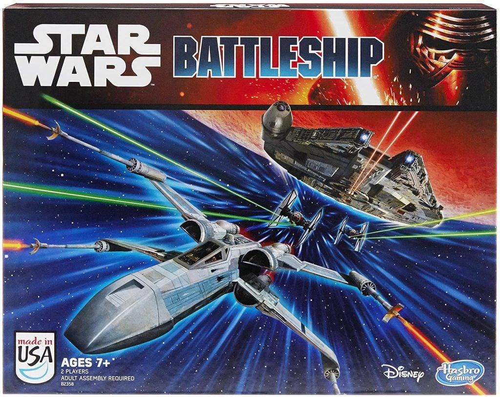 Star Wars Battleship movie-themed board game