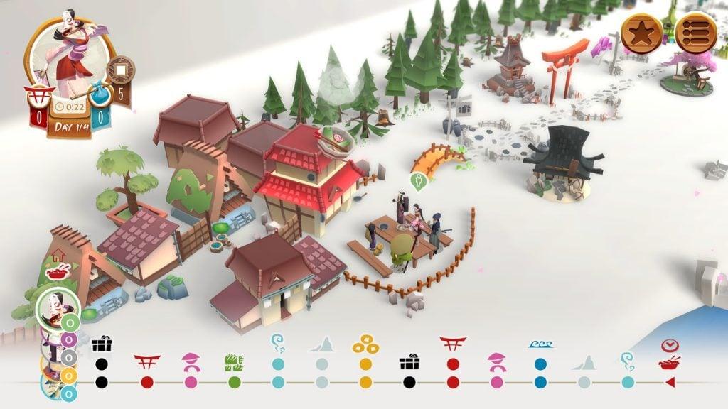 Tokaido virtual board game