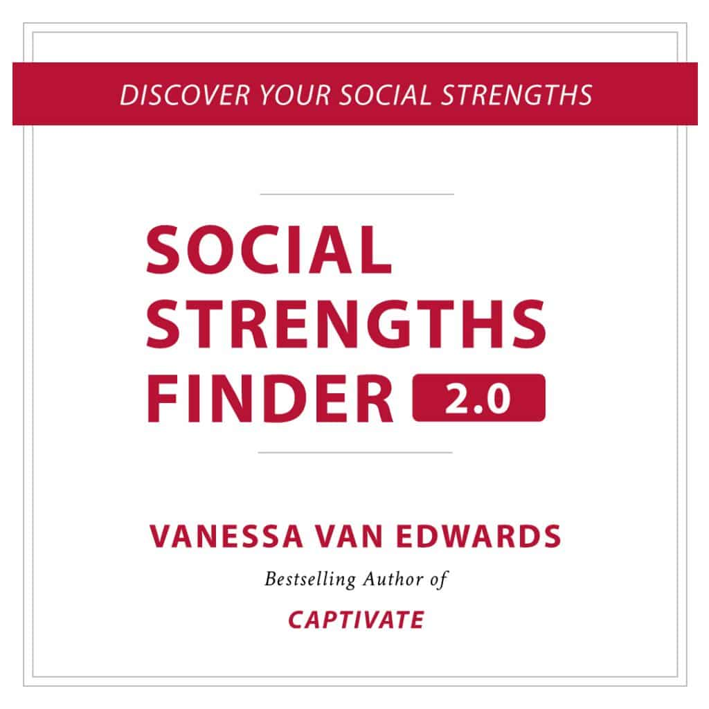 Social Strengths Finder 2.0 by Vanessa