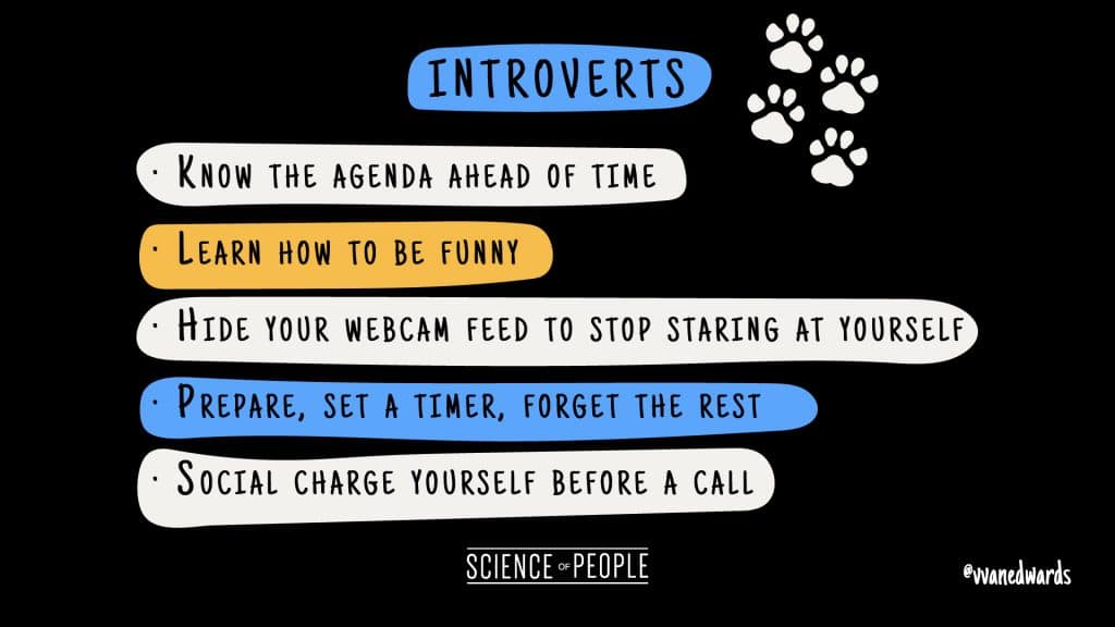 Tips for Introverts to combat Zoom fatigue
