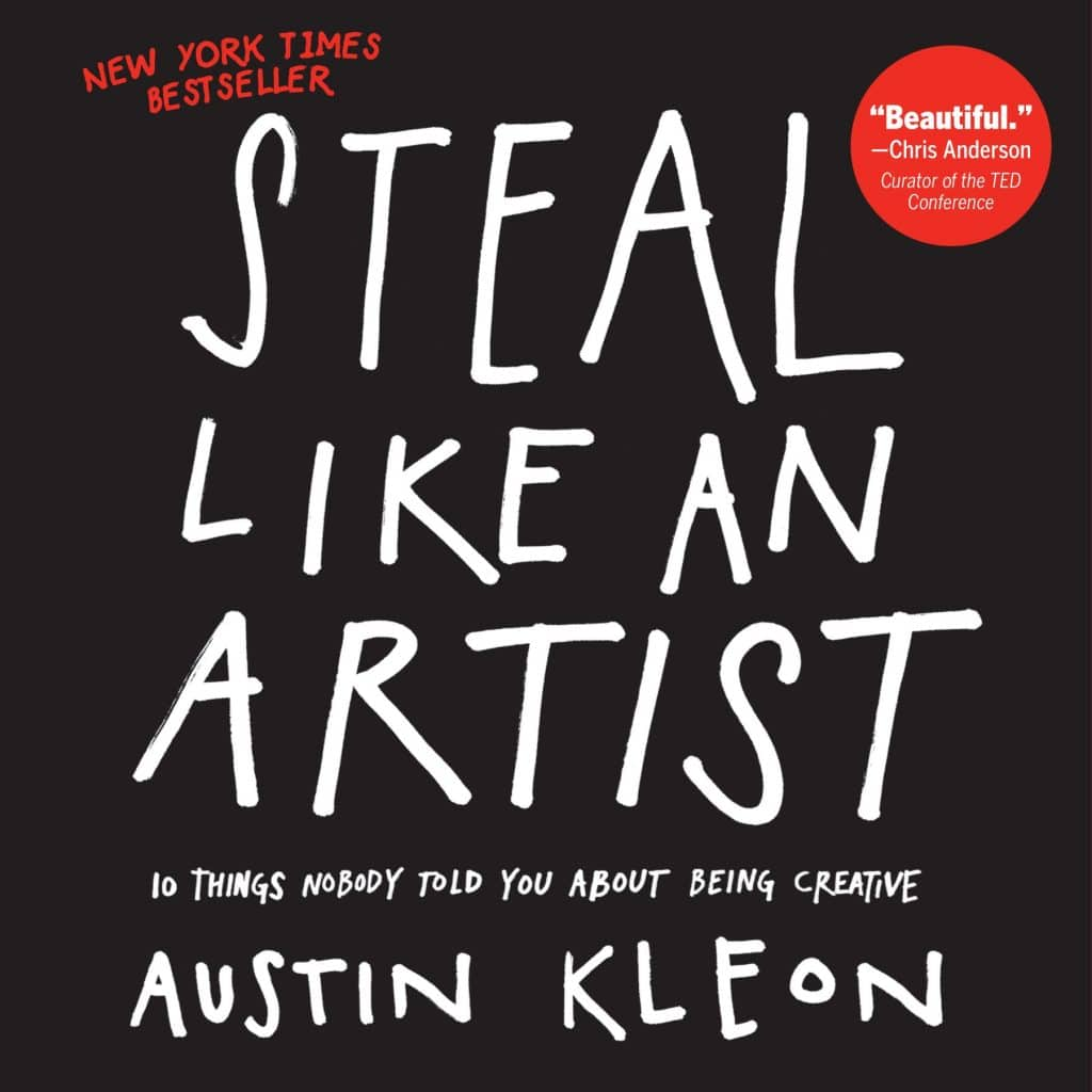 Steal Like an Artist book cover