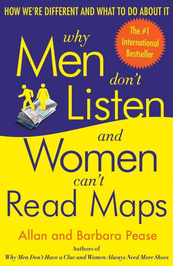 Why Men Don't Listen and Women. Can't Read Maps book cover