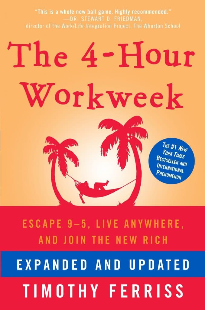 4 Hour Workweek book cover