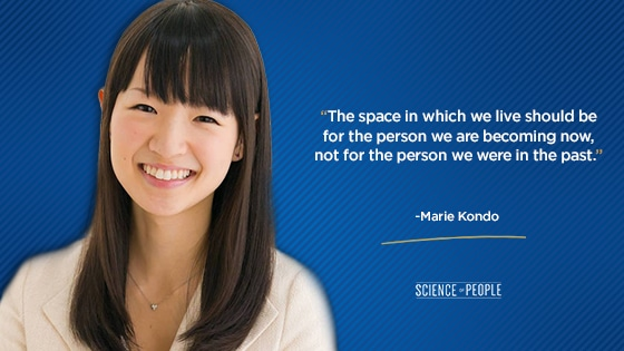 """""""The space in which we live should be for the person we are becoming now, not for the person we were in the past."""""""