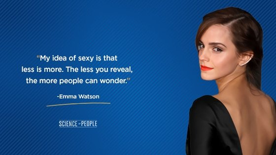 Emma Watson quote about positive affirmations