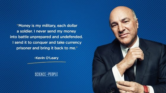 Kevin O'Leary positive affirmation quote