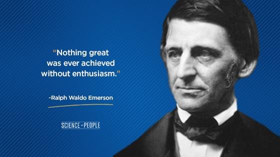 Ralph Waldo Emerson positive quote