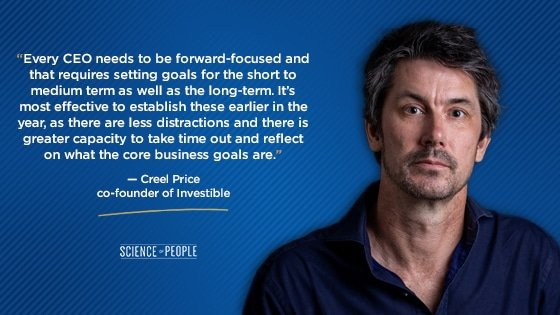 Creel Price quote about CEOs