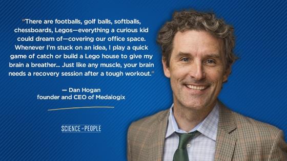 Dan Hogan's quote on C-level executives