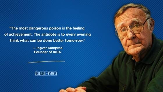 Ingvar Kamprad's quote on C-level executives
