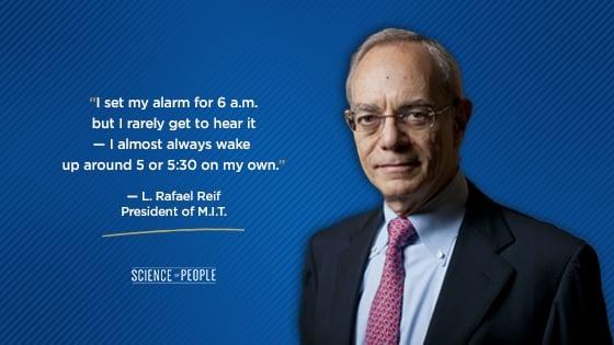 L. Rafael Reif's quote on CEOs