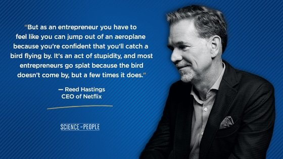 Reed Hastings quote about CEO