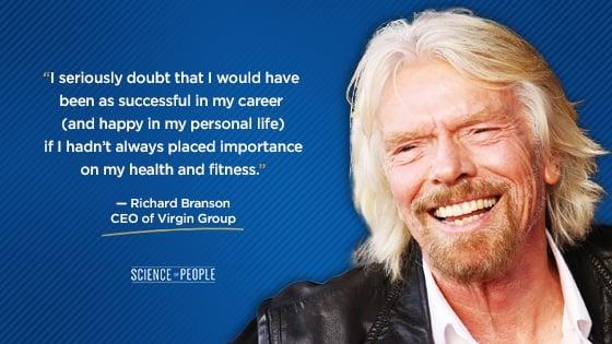 Richard Branson's quote on C-level executives