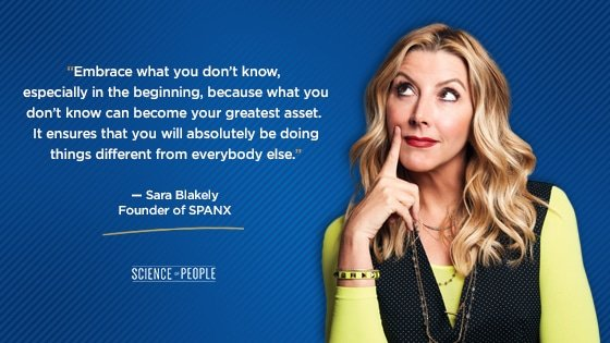 Sara Blakely's quote on C-level executives