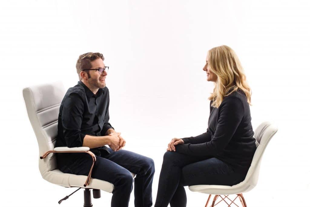 Mutual Eye Gaze Open Body Language Cue