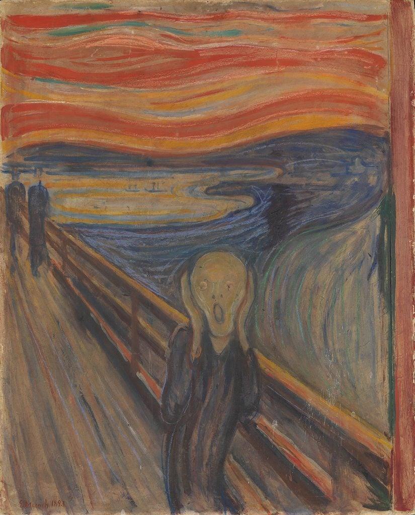 Edvard Munch 's The Scream painting