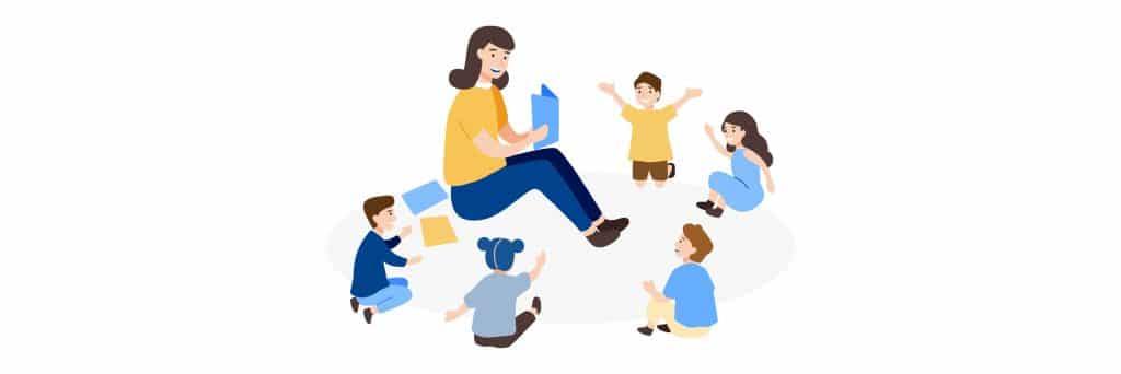 Happiest Jobs: Kindergarten Teacher