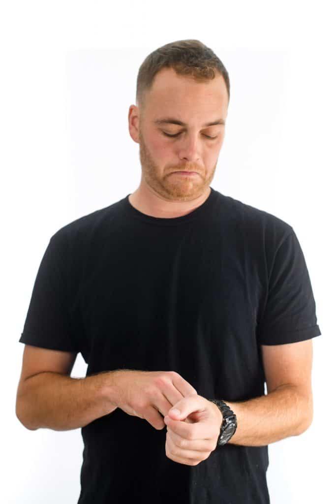 Adornments Arm Body Language Cue