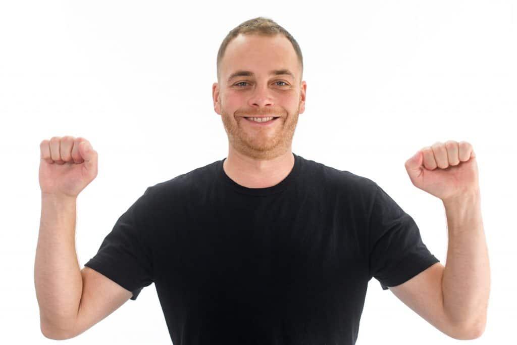 High Elbows Body Language Cue