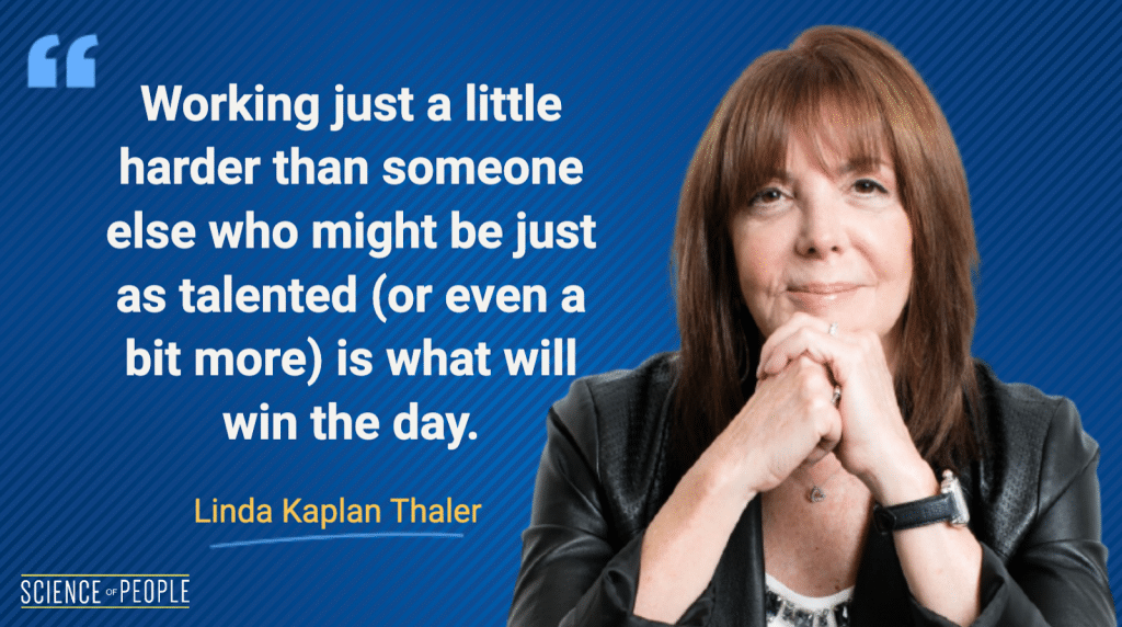 Linda Kaplan Thaler quote