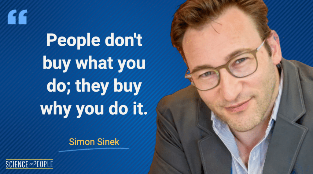 Simon Sinek quote