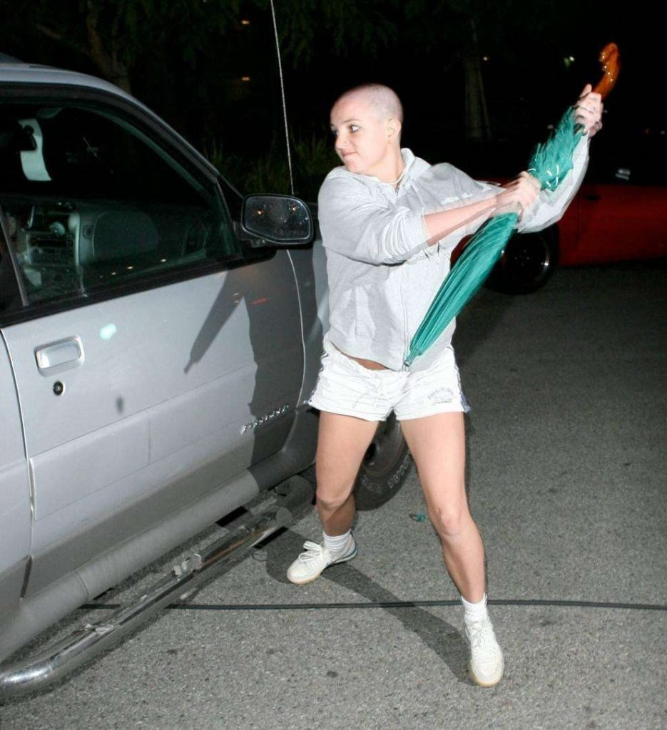 Britney Spears in the Battle Stance
