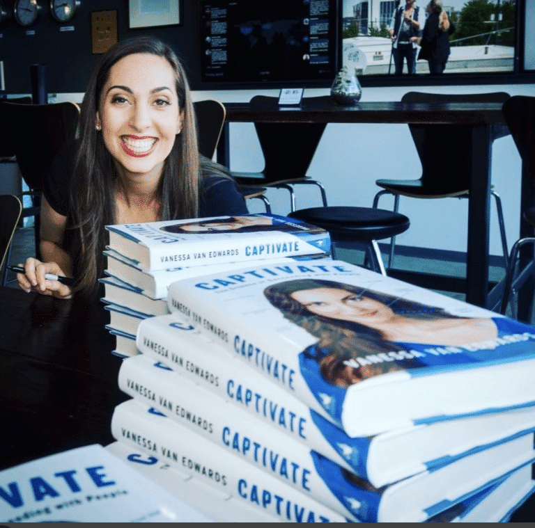 Vanessa Van Edwards and her book Captivate