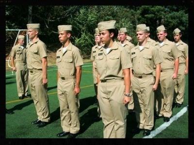 Soldier Stance Arm Body Language Cue