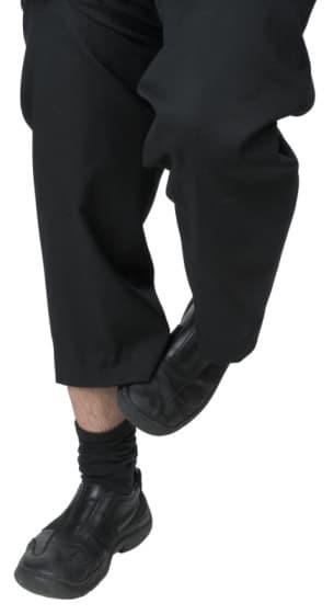 Ankle Scratching Leg Body Language Cue